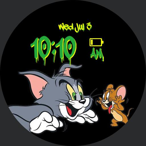 Tom  Jerry  graffiti