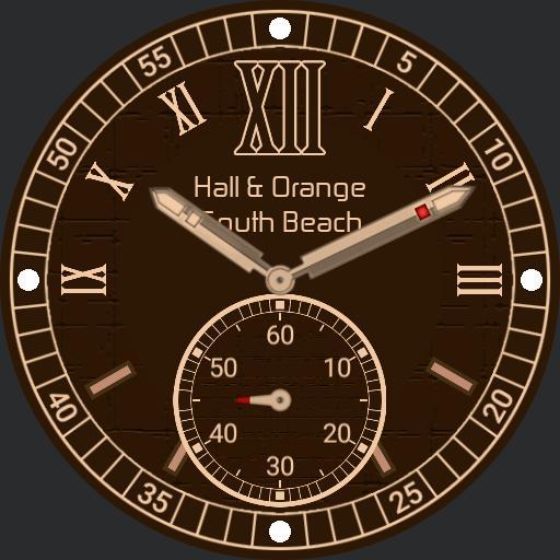 Hall and Orange South Beach