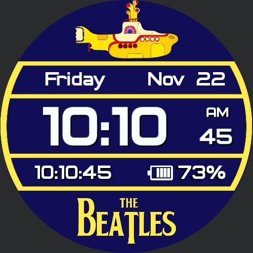Digital Beatles Yellow Submarine