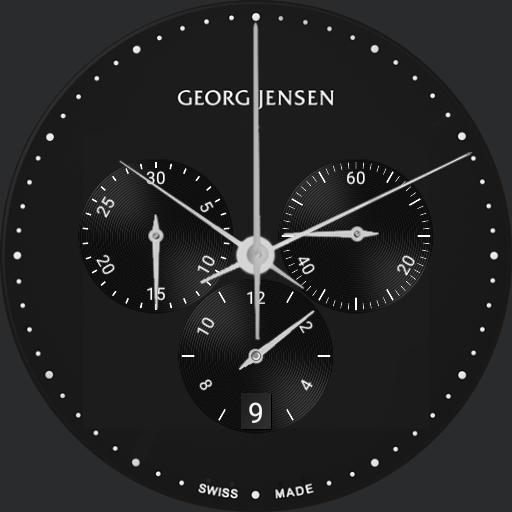 Georg Jensen Koppel 517 Black