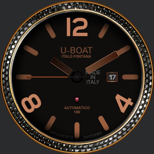 U-Boat black swan 8000