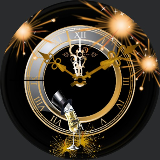Silvester Happy New Year A