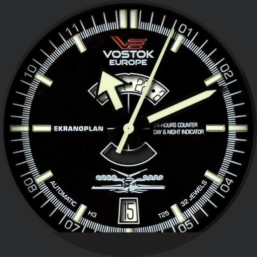 Vostok Europe Ekranoplan NoDim
