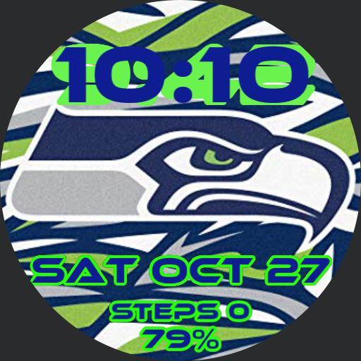 Seattle Seahawks coffee