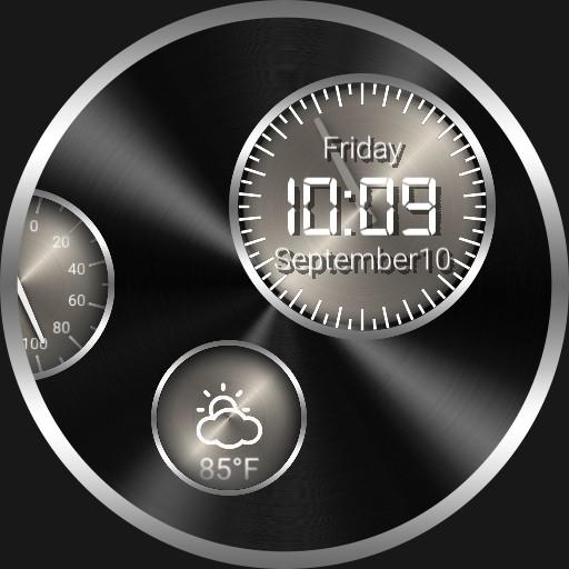 Metal circles Copy 24 Hour Dial