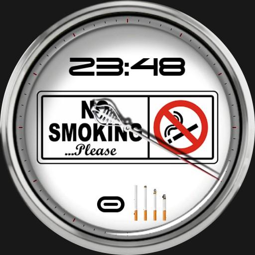 No Smoking  Zigaretten Counter