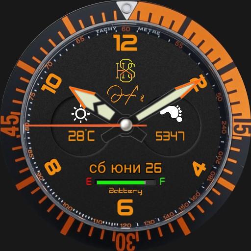 H8S Samsung gear orange