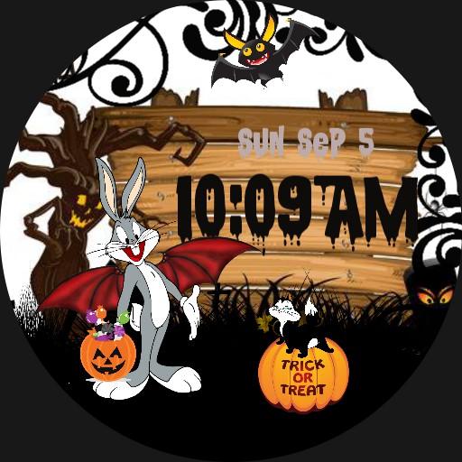 Halloween with Bugs Bunny Copy