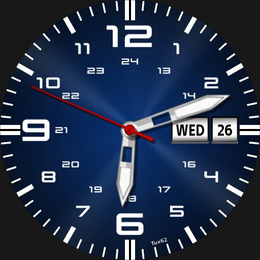 Watch - chrono  - dateinfo - nitemode
