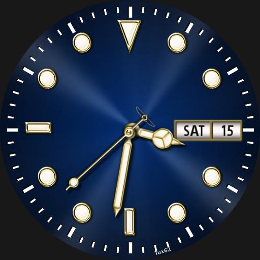 Dive watch.  autowinder homage . autolume after sundown tap6 for options