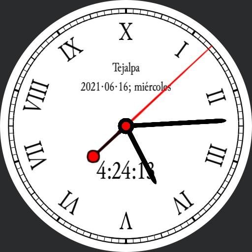 Half Hunter 10h Decimal Time Watch