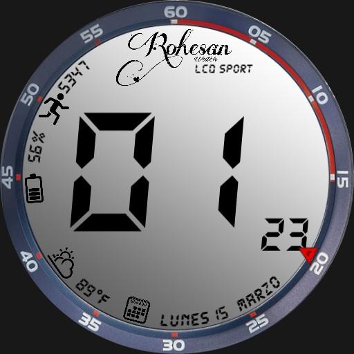 LCD Sport - Rohesan Watch