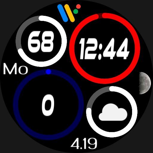 Quad Rings 2 Wear OS