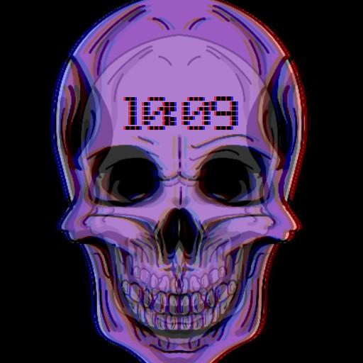 Skull 3D Rectangular