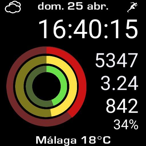 Apple Watch mod. oppo AOD.