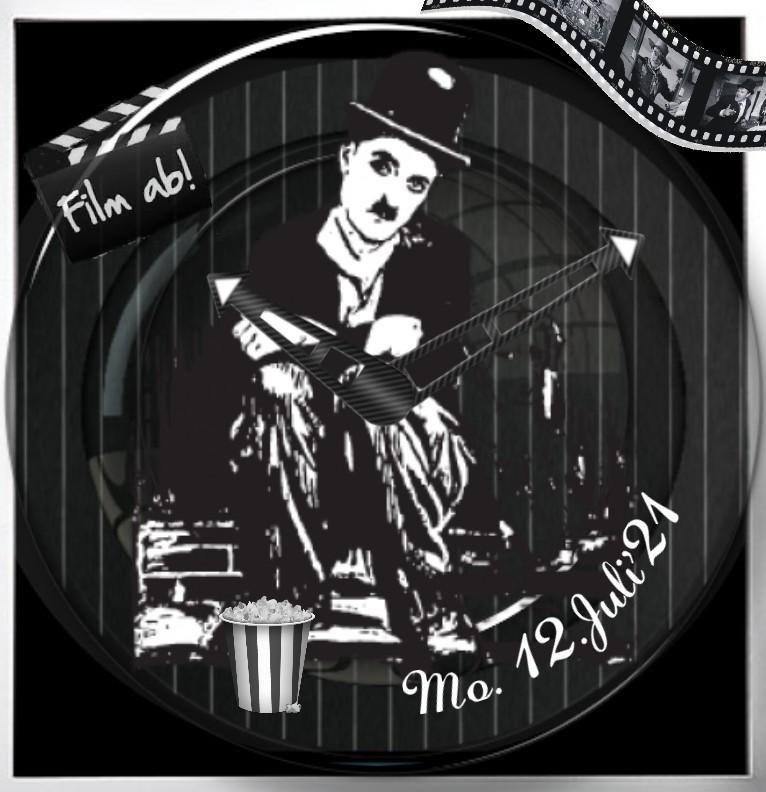 Clock Charlie Chaplin 1