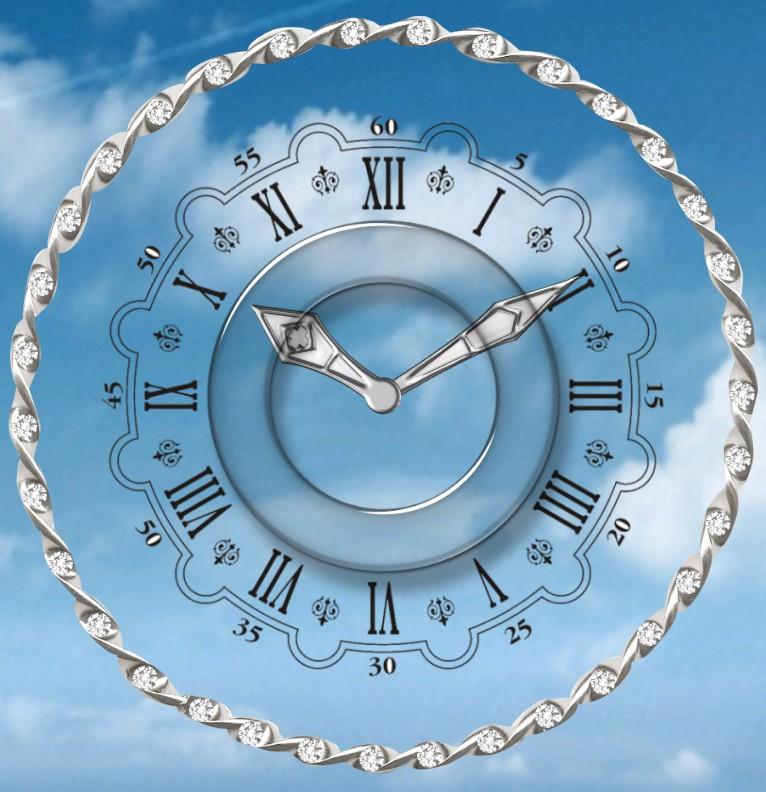 Clock Wolke