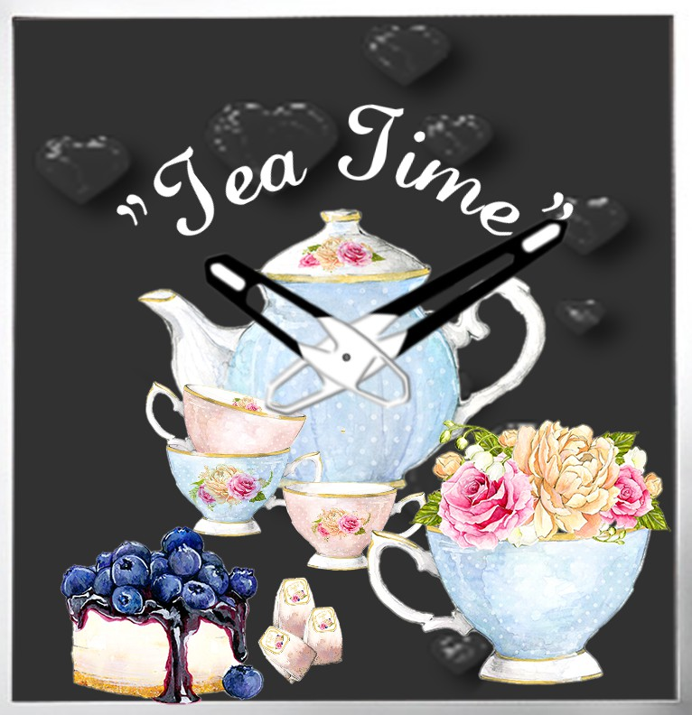Clock Tea Time