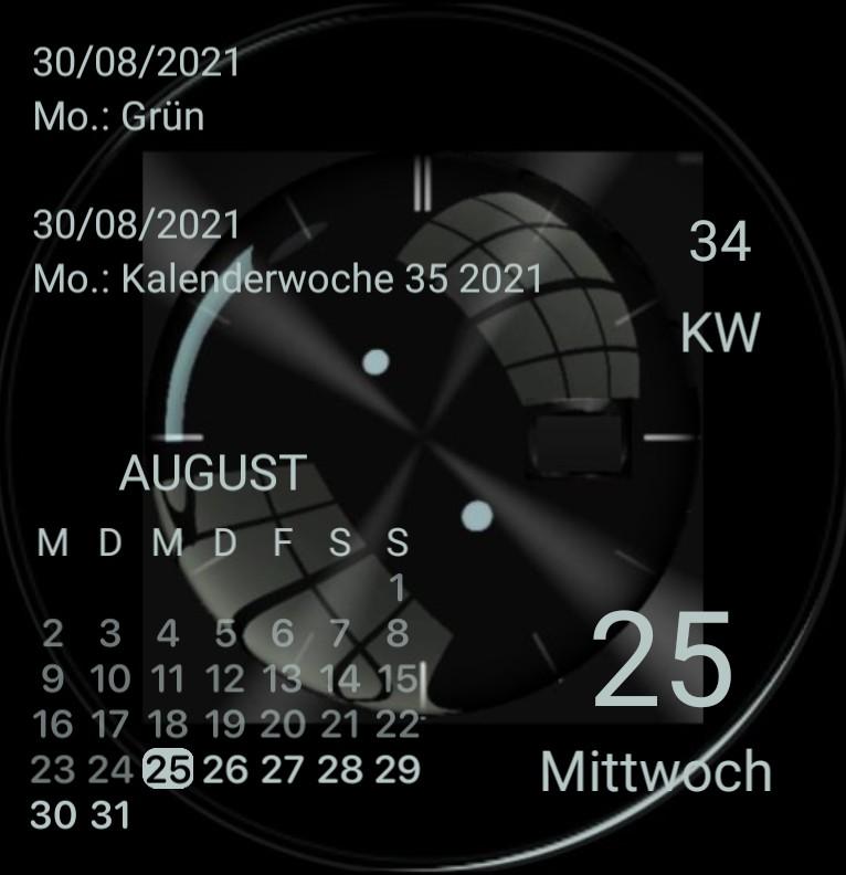 Kalender Design 1489