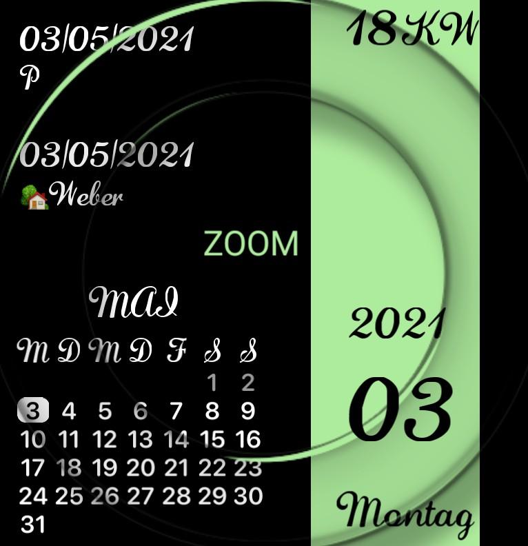 Kalender Design 1473