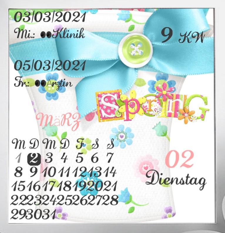 Kalender  Spring