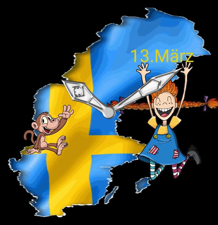 Clock Serie Pippi Langstrumpf