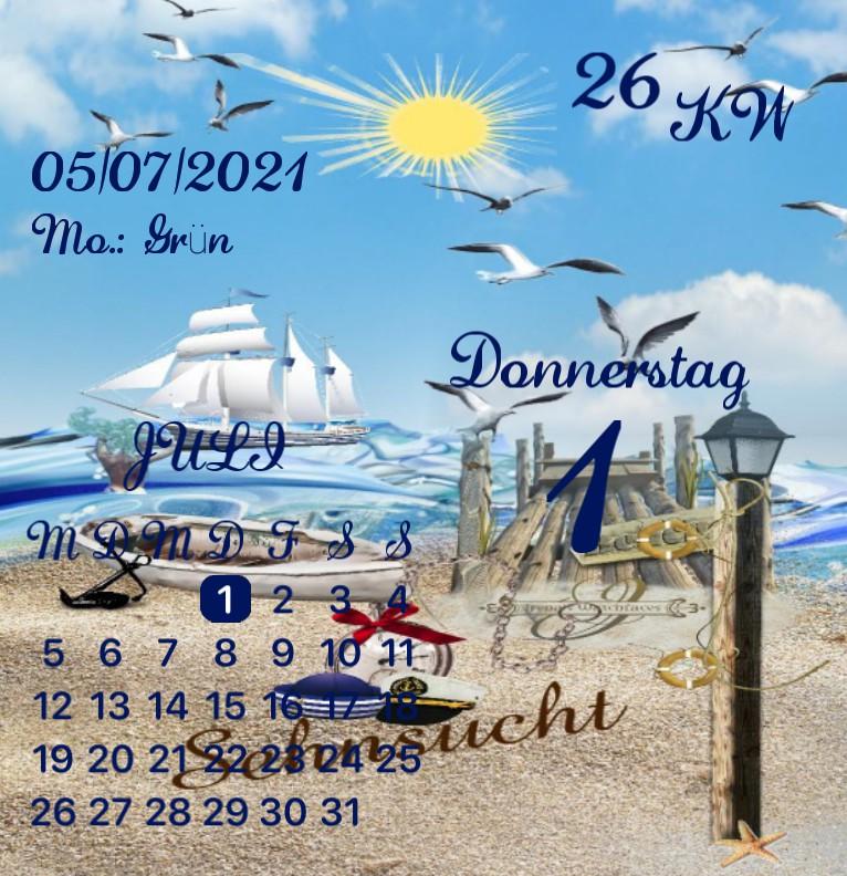 Kalender Kuestenkind 18 Tag