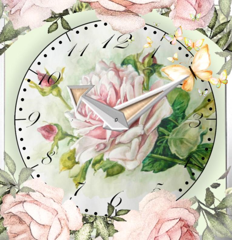Clock Pfingsten