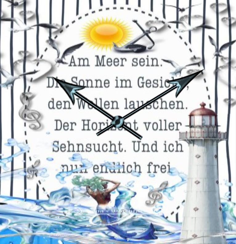 Clock Kuestenkind 7