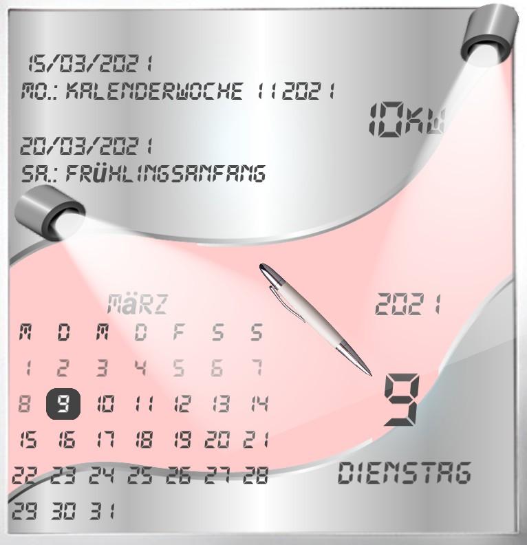 Kalender gross Serie Star Office