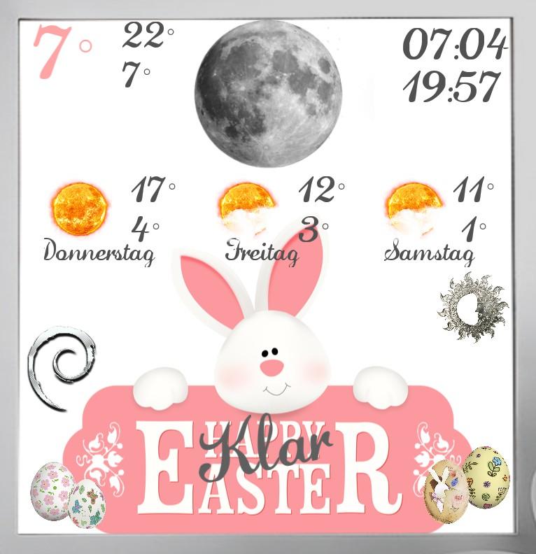 Widget Wetter Easter