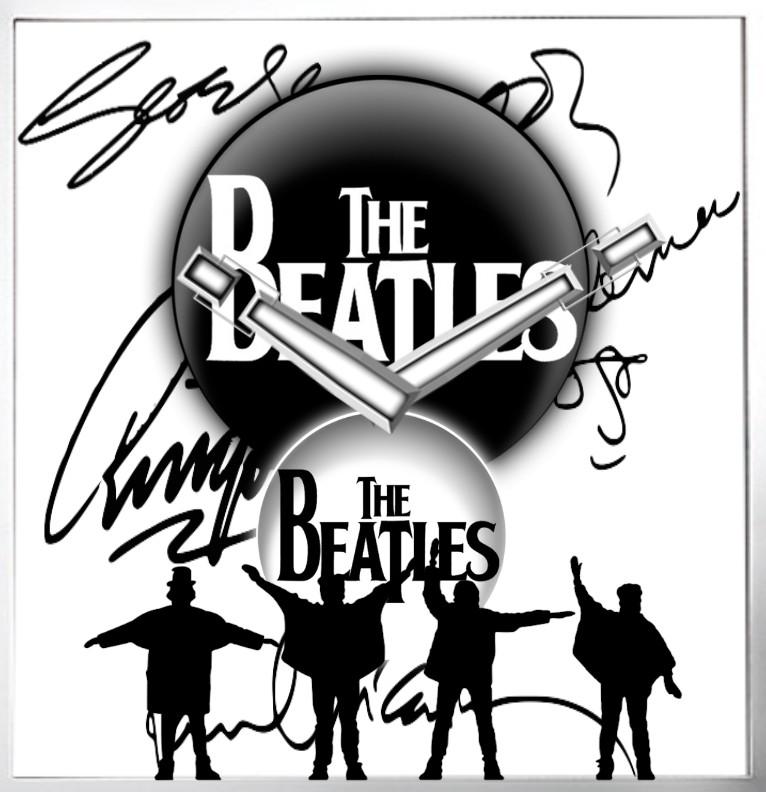 Clock The Beatles