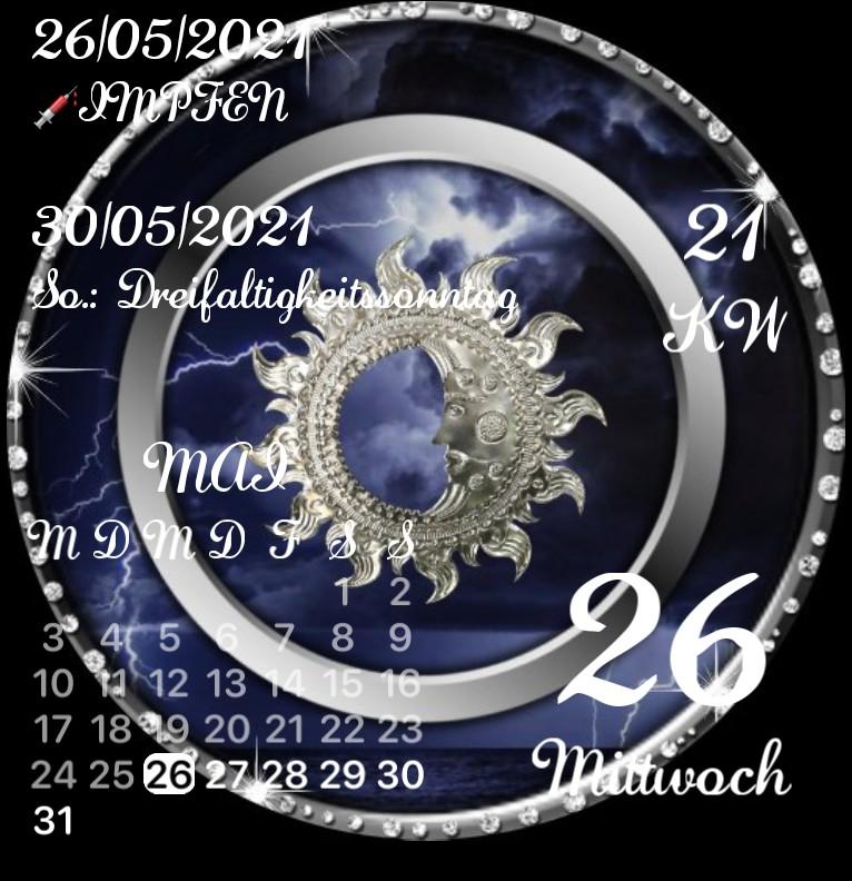 Kalender Diamanten Mond