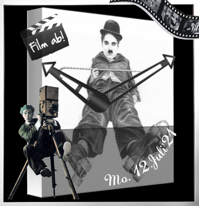 Clock Charlie Chaplin