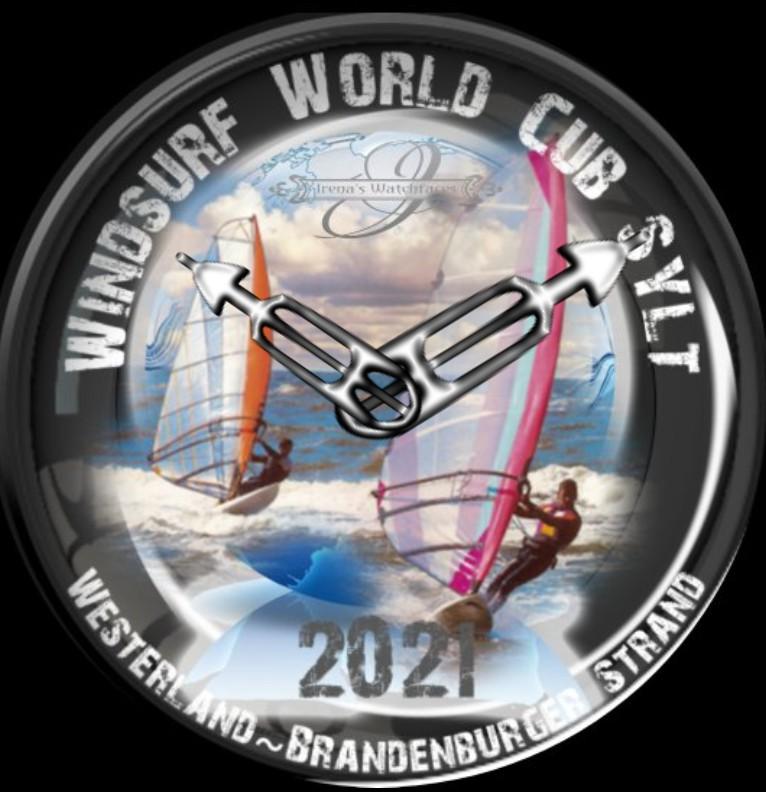 Clock Windsurf World Cub