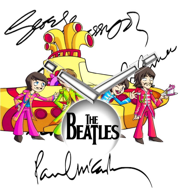 Clock The Beatles 2