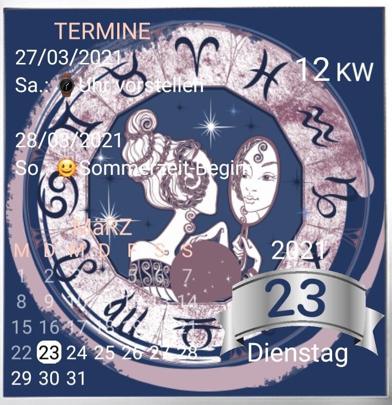 Kalender Zwillinge