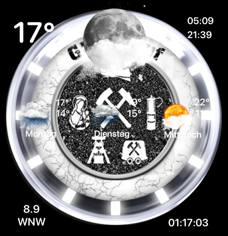 Widget Wetter Bergmann +