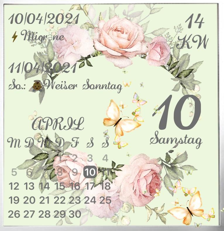 Kalender Pfingsten