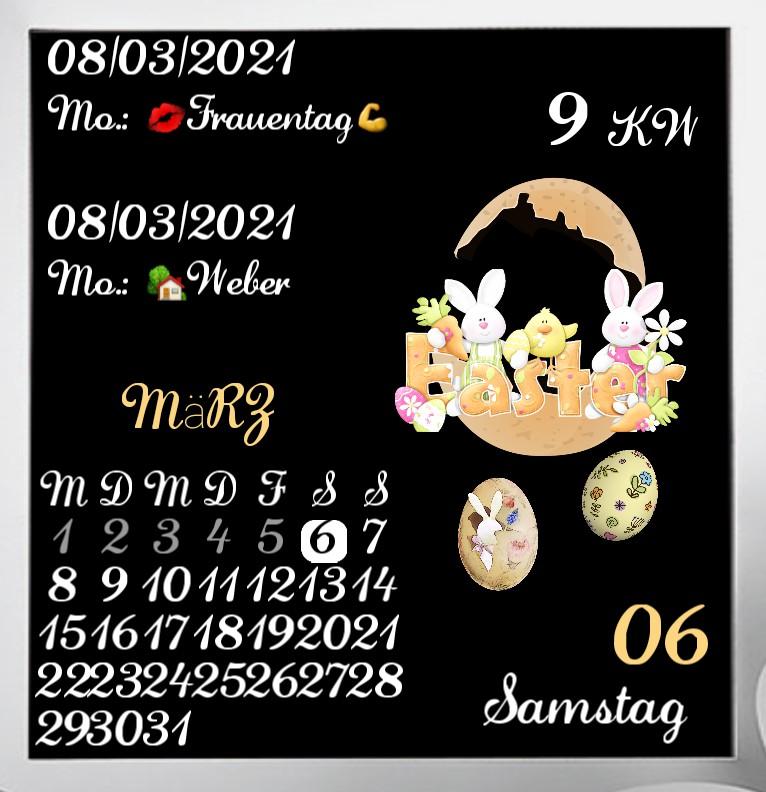 Kalender  Easter Natur