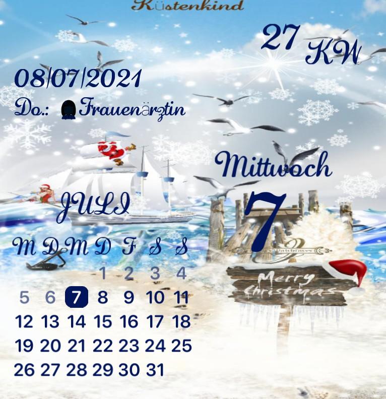 Kalender Kuestenkind 20 Weihnachten Tag
