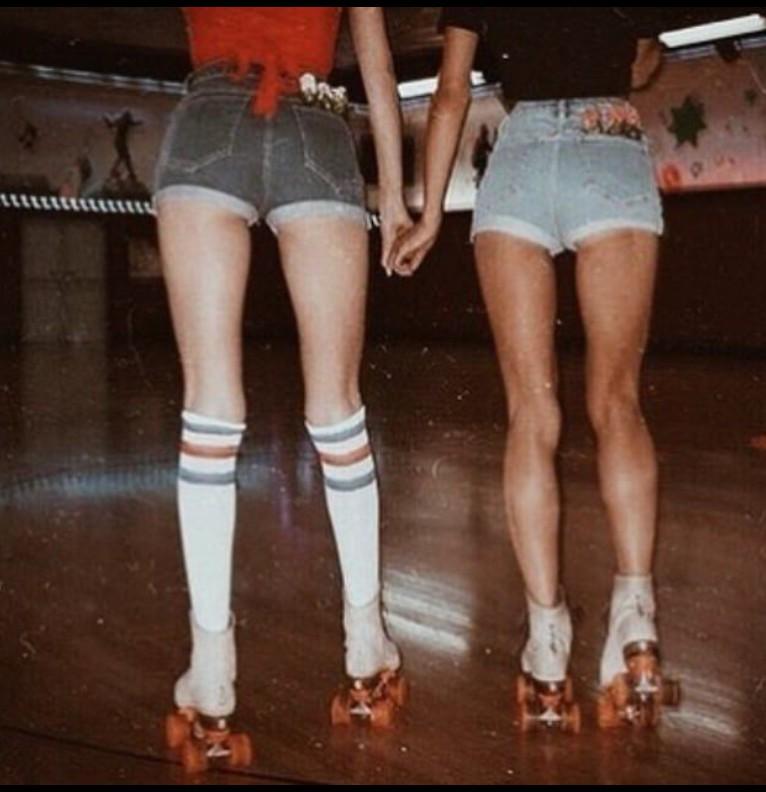 80s Roller Skating