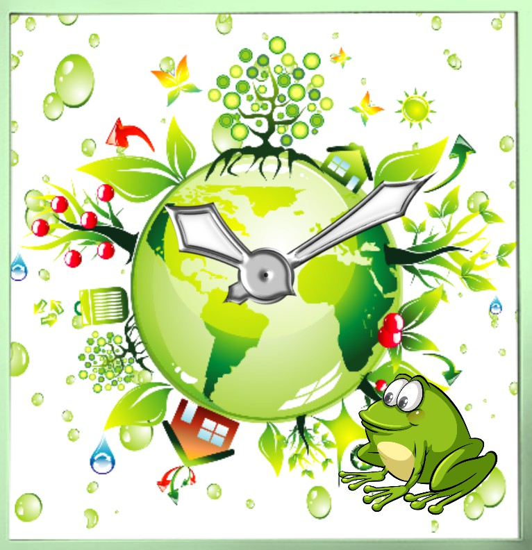 Clock Greenworld