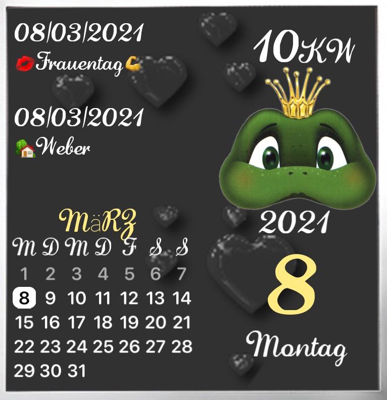 Kalender gross Serie Frog