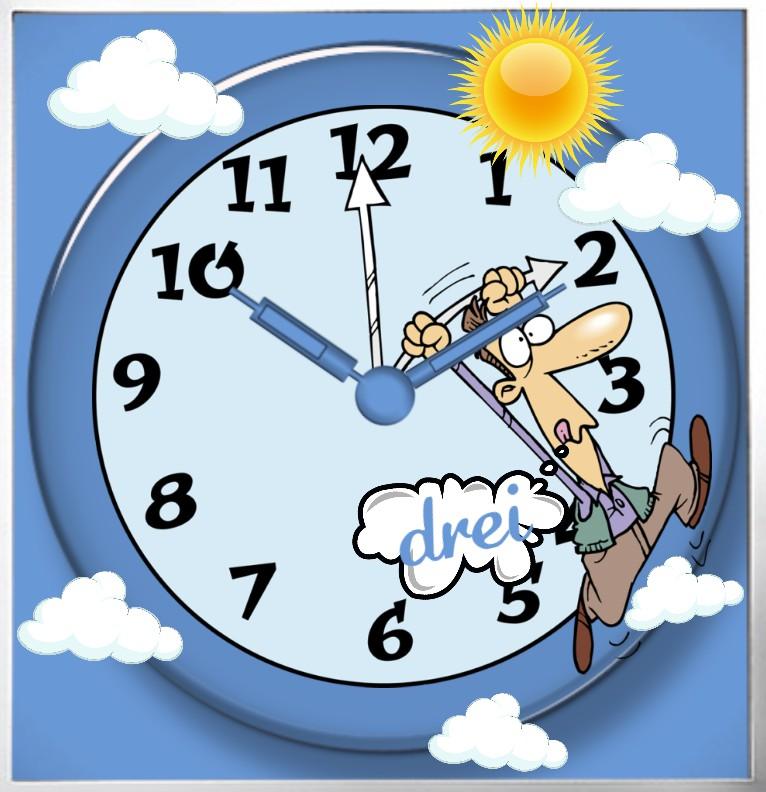 Clock Summertime