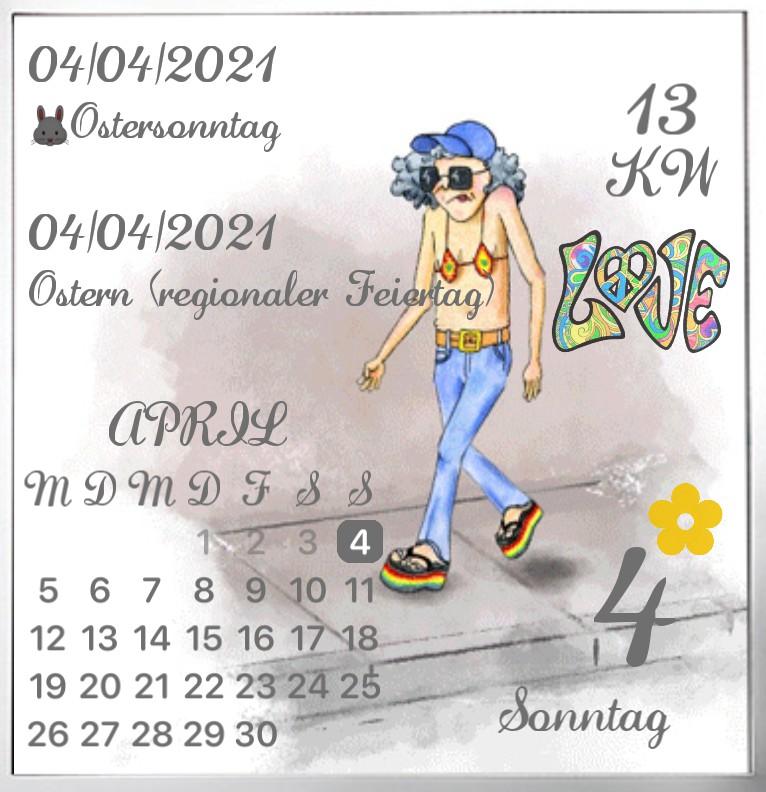 Kalender Hippie Step