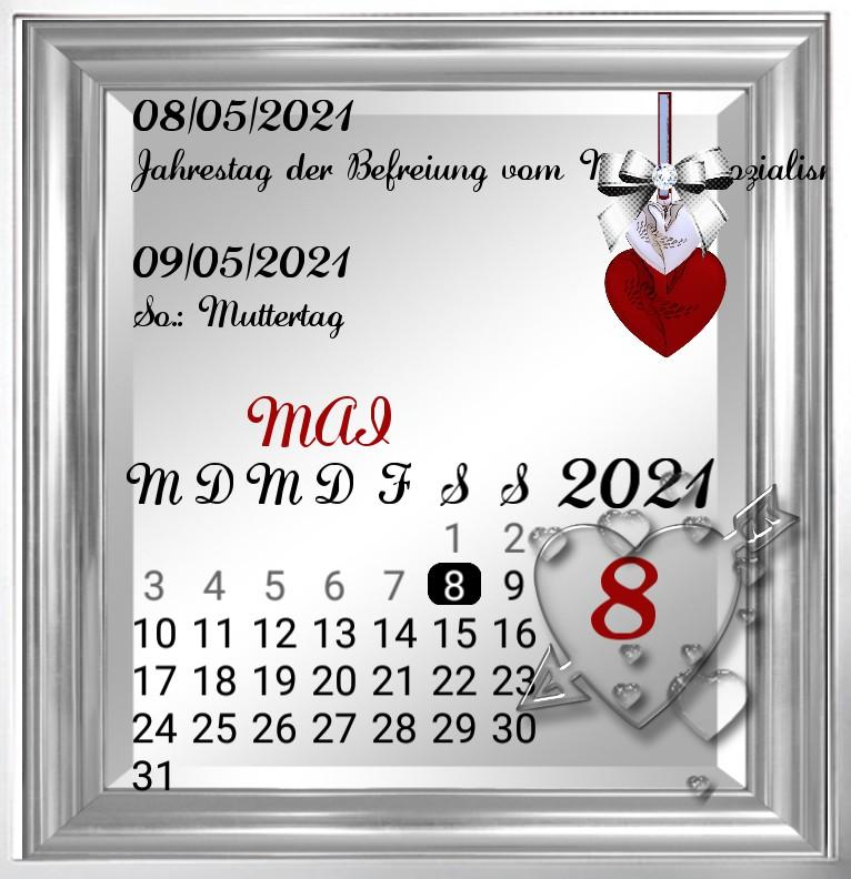 Kalender gross Serie Muttertag