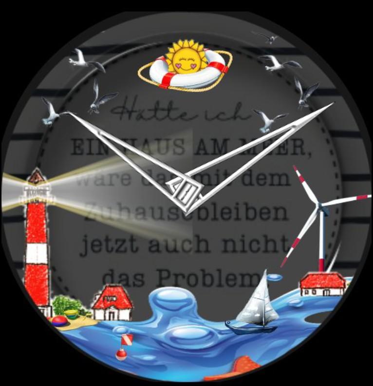Clock Kuestenkind 4 Nacht