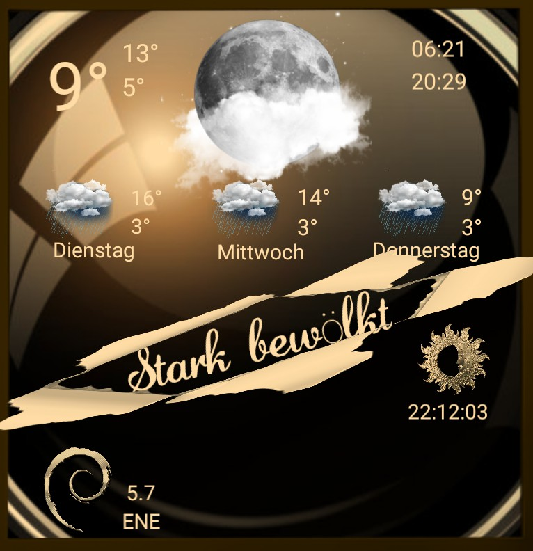 Widget Wetter Design 1469