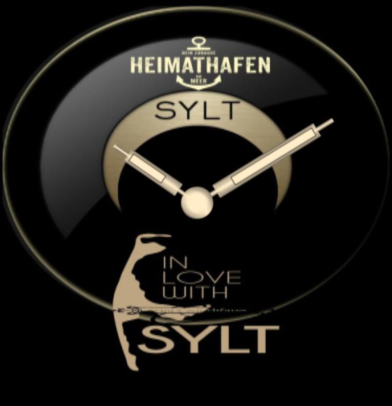 Clock Sylt Tide